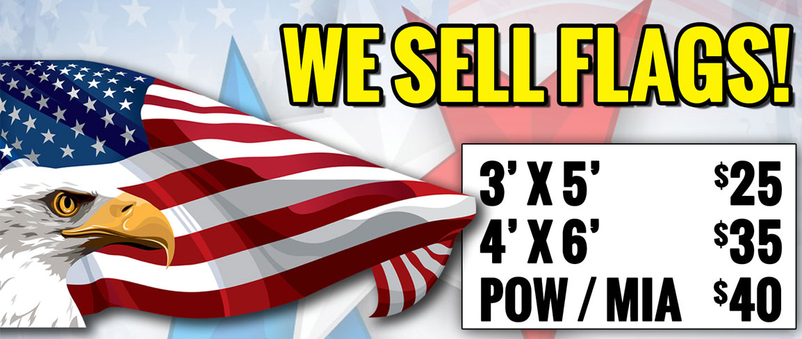 We Sell Flags