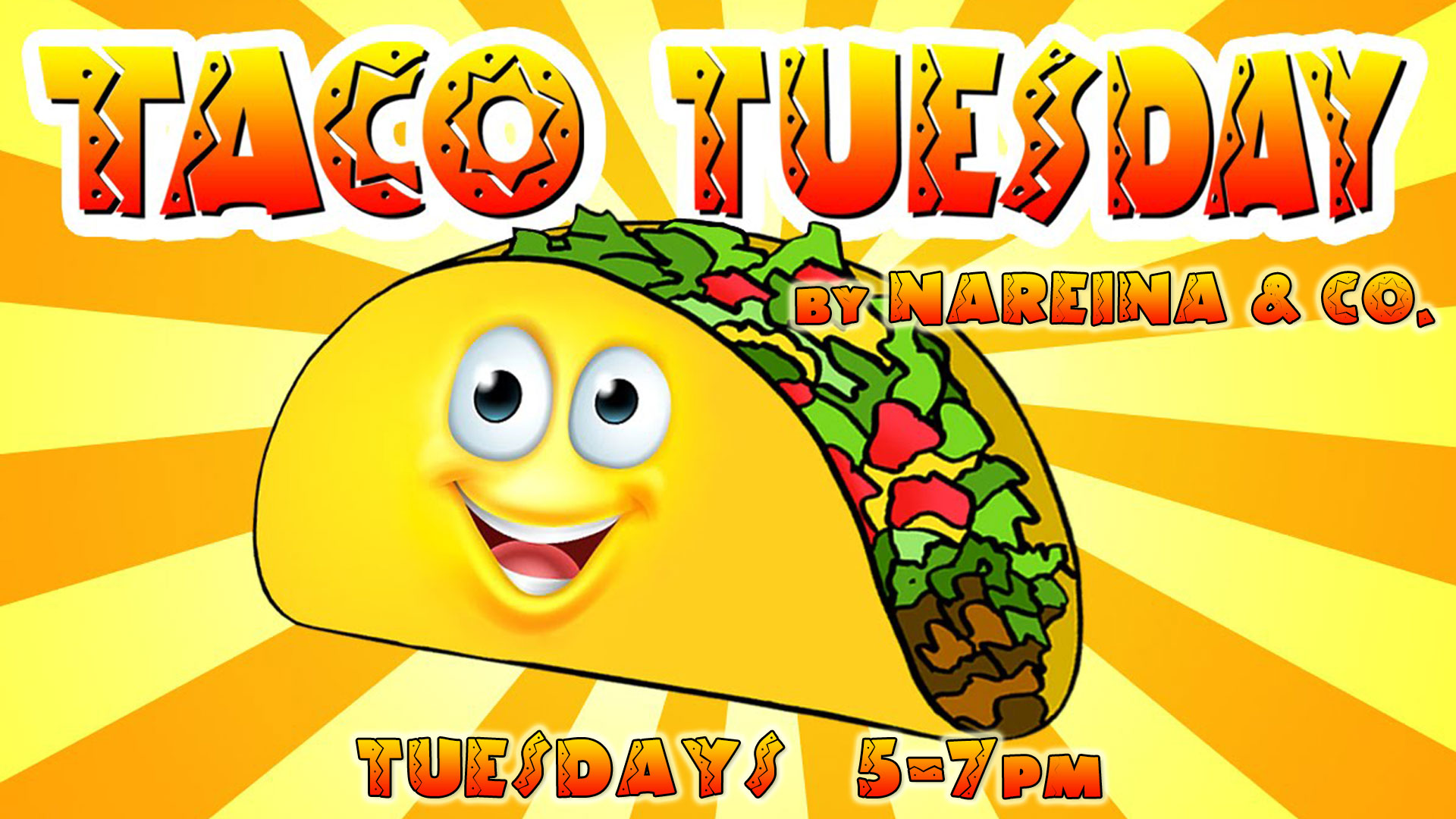 Taco Tuesday Ad