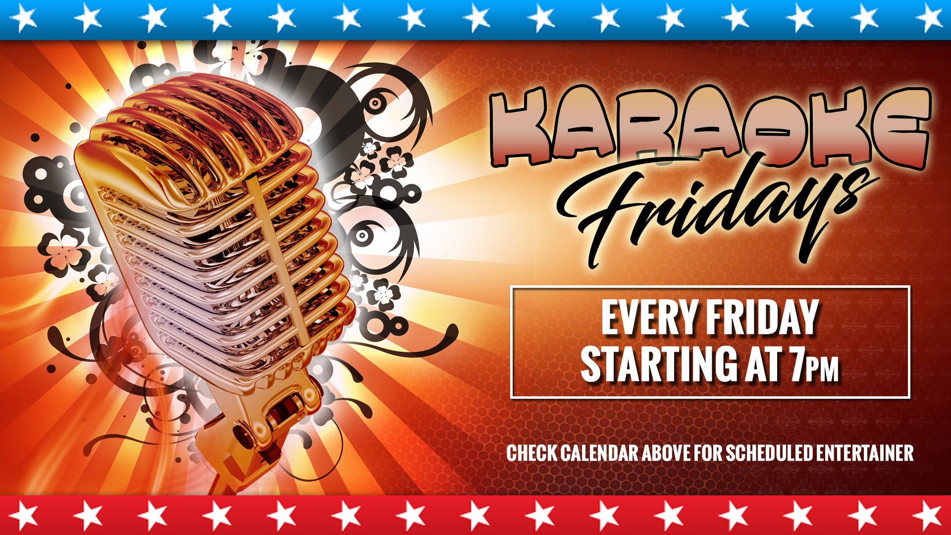 Karaoke Fridays Image
