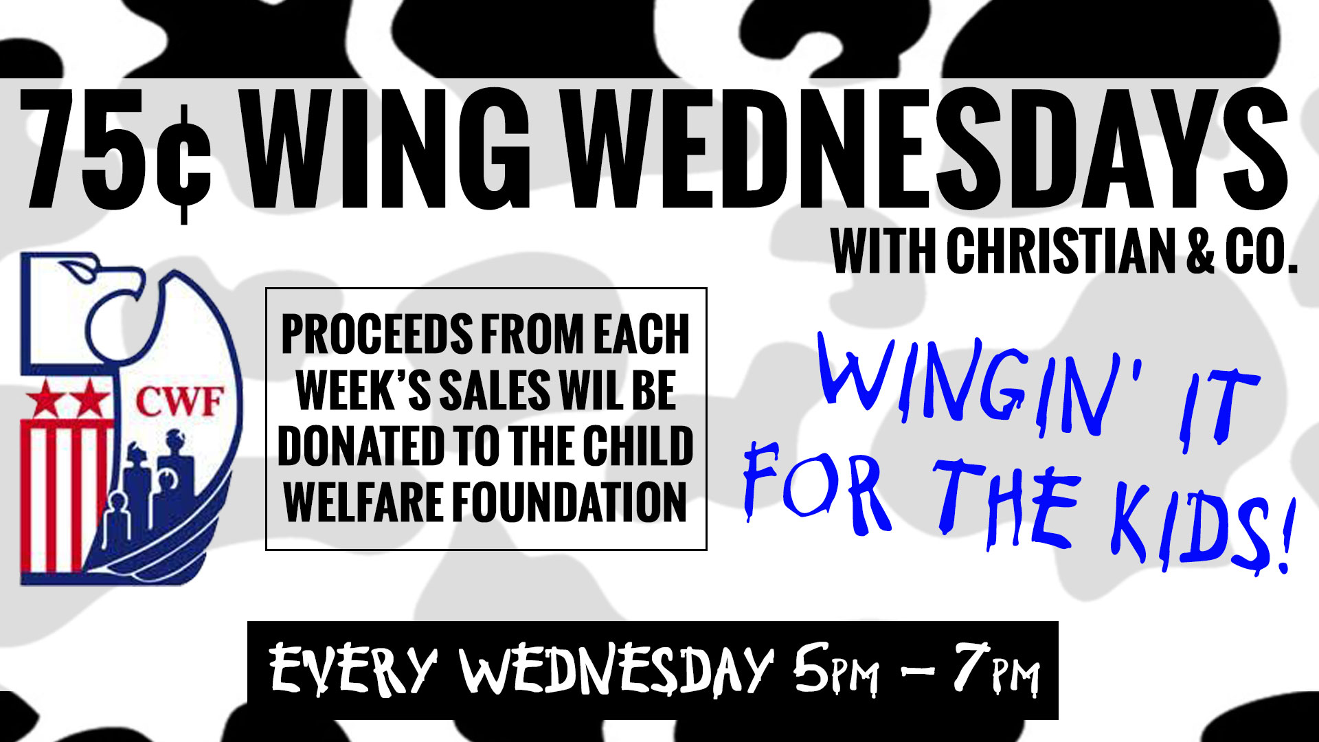 Wing Wednesday Graphic