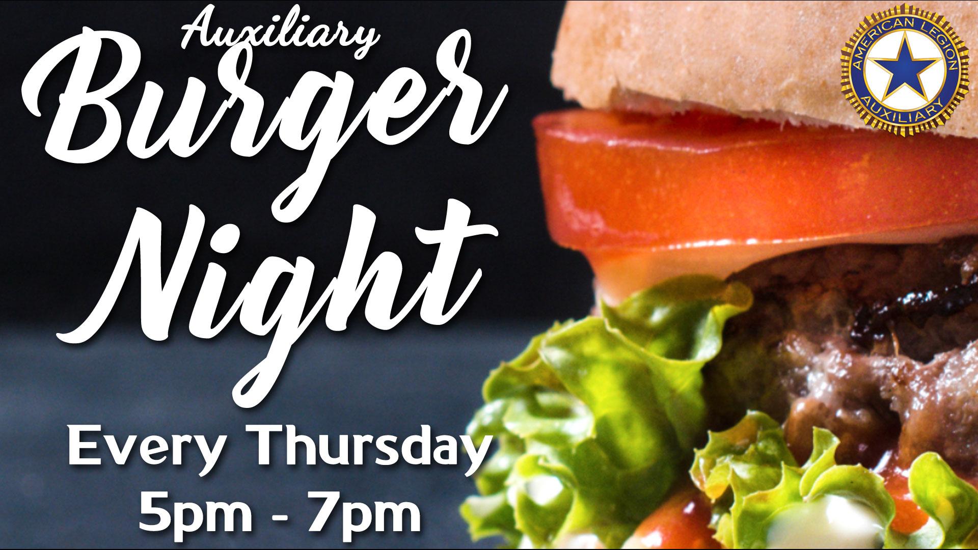 Burger Night Image